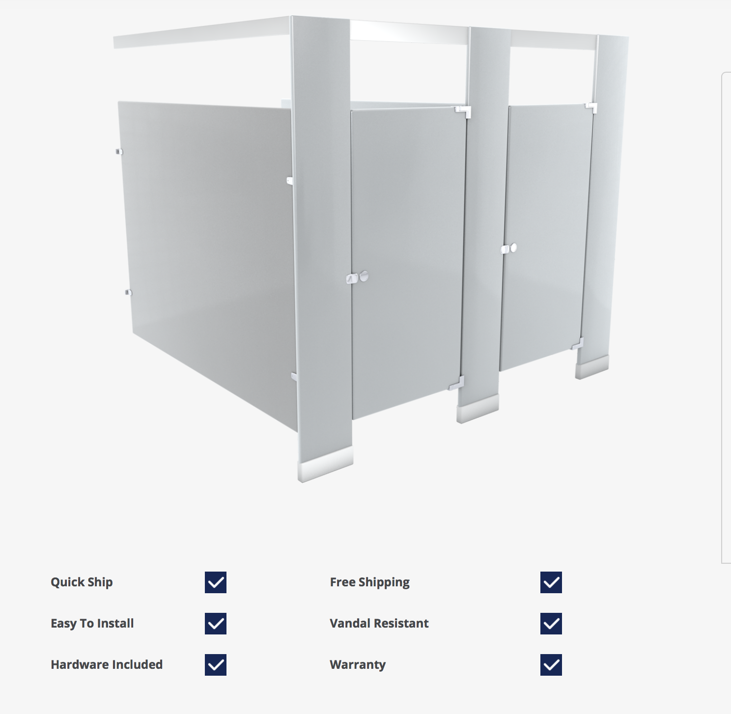Stainless Steel Bathroom Stalls Property: BATHROOM PARTITIONS AND TOILET PARTITIONS