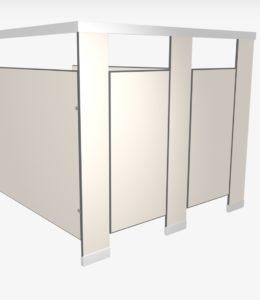 Compact-laminate-toilet-partitions