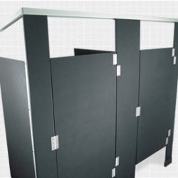 Solid-Plastic-Toilet-Partition-Elevation-View