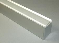 Aluminum-Head-Rail-for-Solid-Plastic-Toilet-Partitions