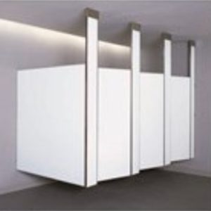 Bobrick Ceiling Hung Toilet Partitions
