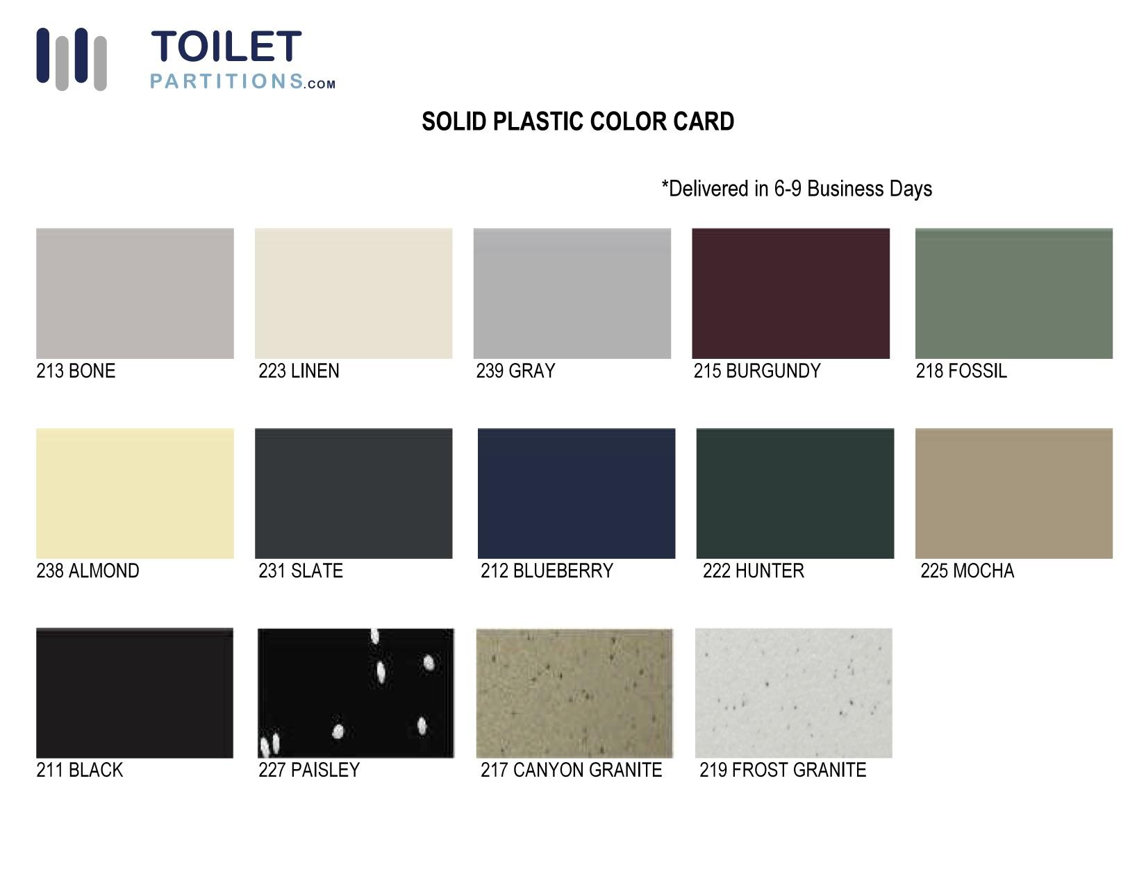 ToiletPartitions-com-solid-plastic-color-card
