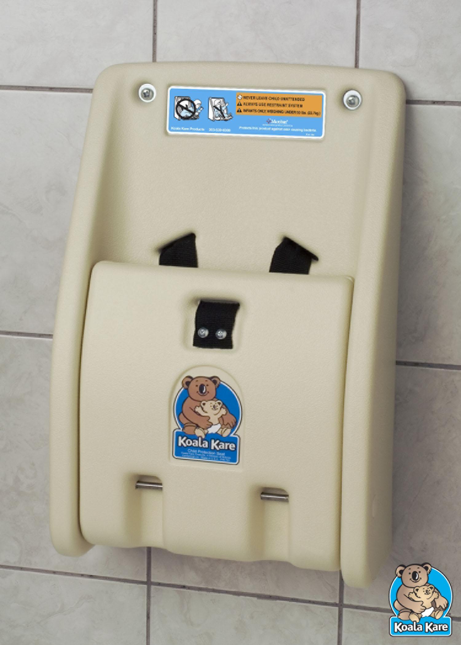 Koala Kare KB102-00 Child Protection Seat - Cream