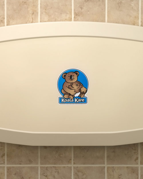 Koala Kare KB200-00 Horizontal Baby Changing Station - Cream