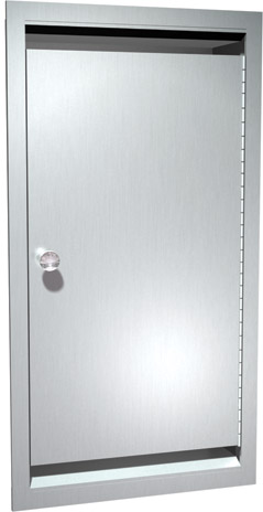 American-Specialties-0551-Recessed-Bed-Pan-and-Urinal-Bottle-Cabinet