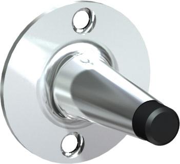 American Specialties 0719 Chrome Plated Door Bumper