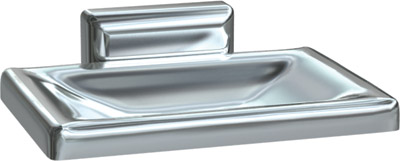 American Specialties 0721-Z Surface Mounted Chrome Plated Soap Dish