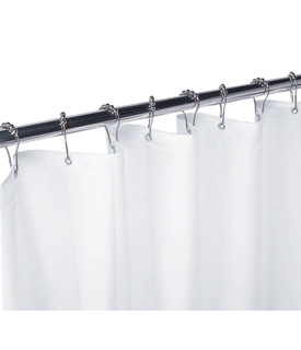 Gamco 100SC 42x72 White Vinyl Shower Curtain