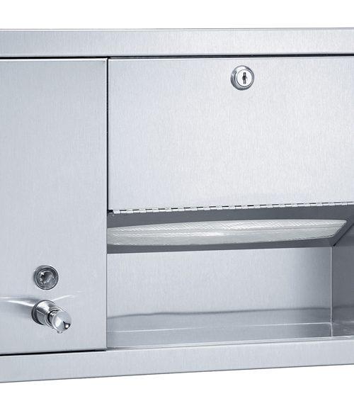 Bradley 1471-11 Surface MountedTowel & Liquid Soap Dispenser
