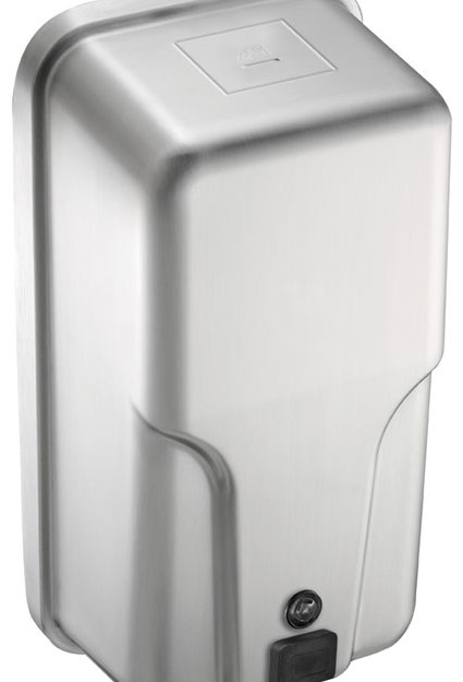American Specialties 20363 Vertical Soap or Hand Sanitizer Dispenser