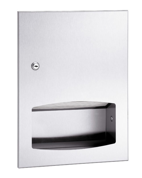 Bradley 2442 Contemporary Series Recessed Towel Dispenser