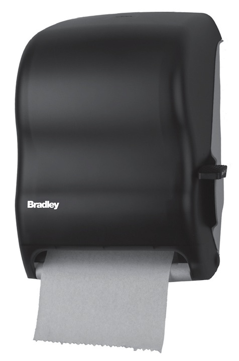 Bradley 2495 Surface Mounted Lever Operated Roll Towel Dispenser