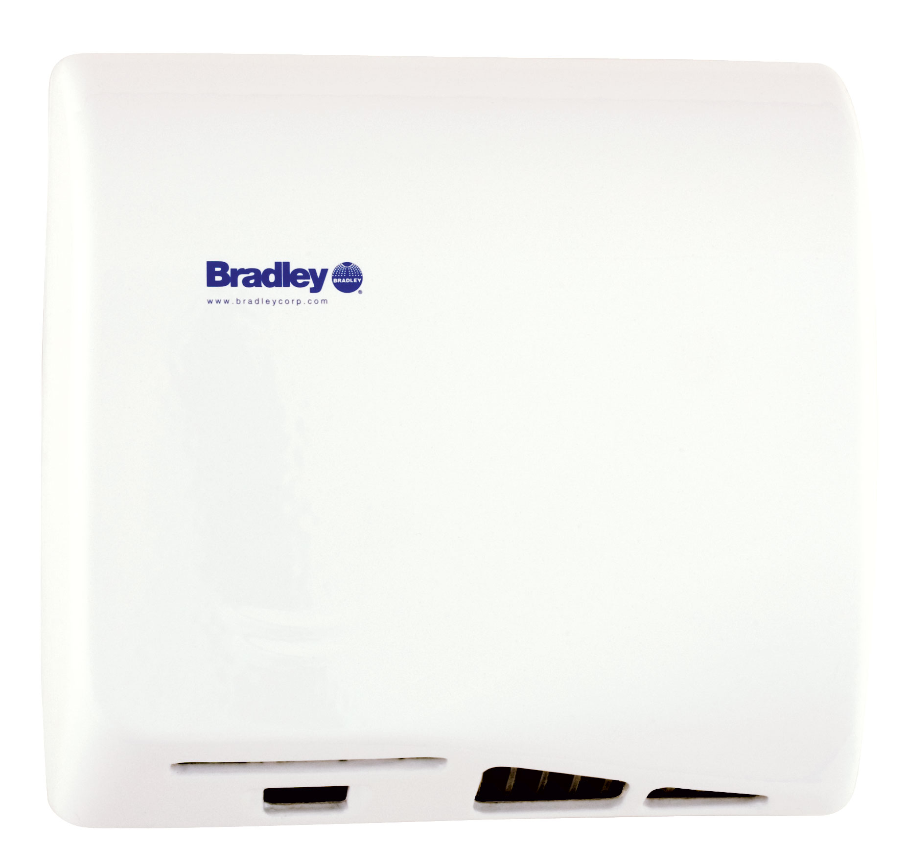 Bradley Aerix 2902-28 White Adjustable Sensor-Operated Hand Dryer