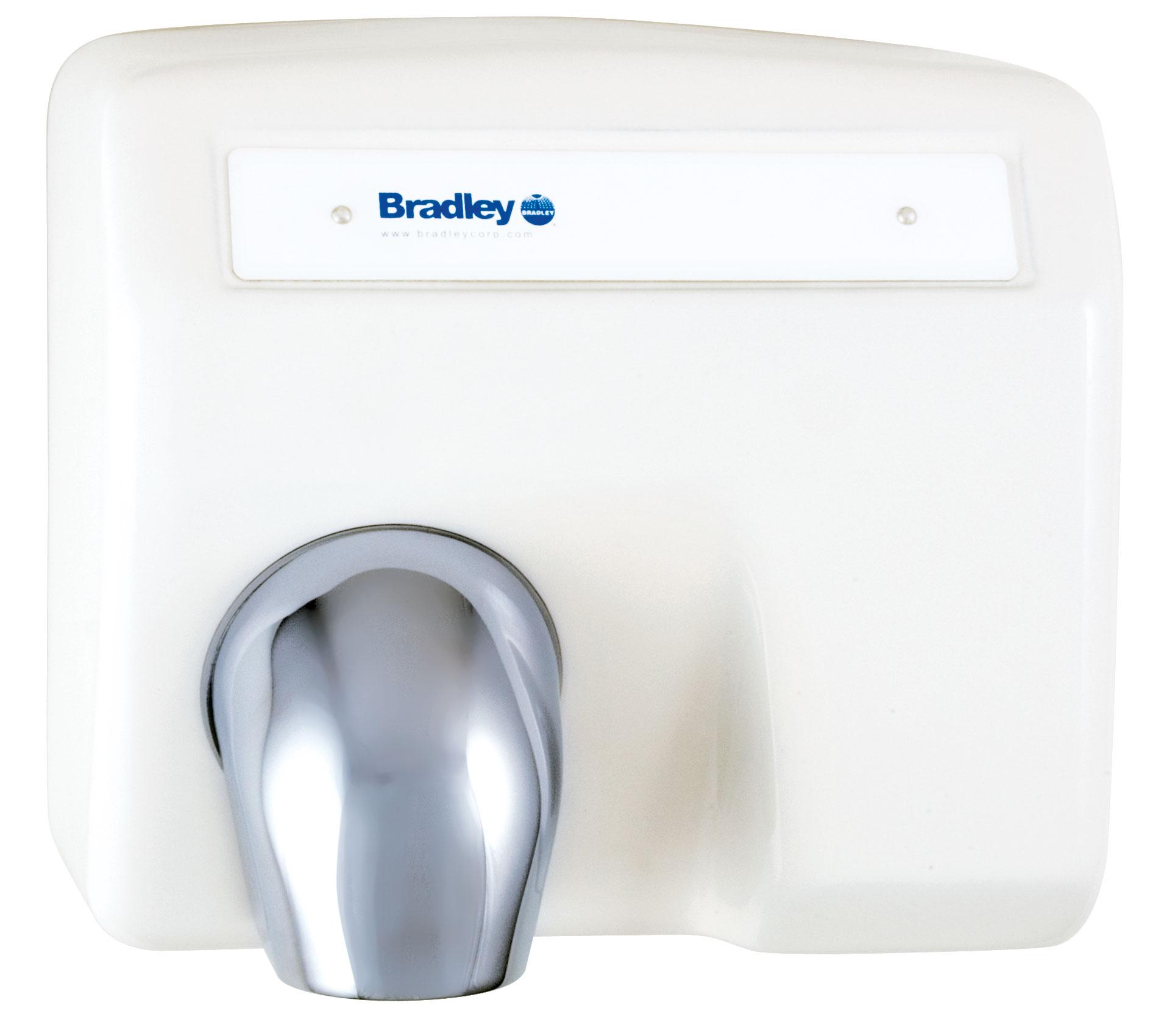 Bradley Aerix 2903-28 White Sensor-Operated Hand Dryer