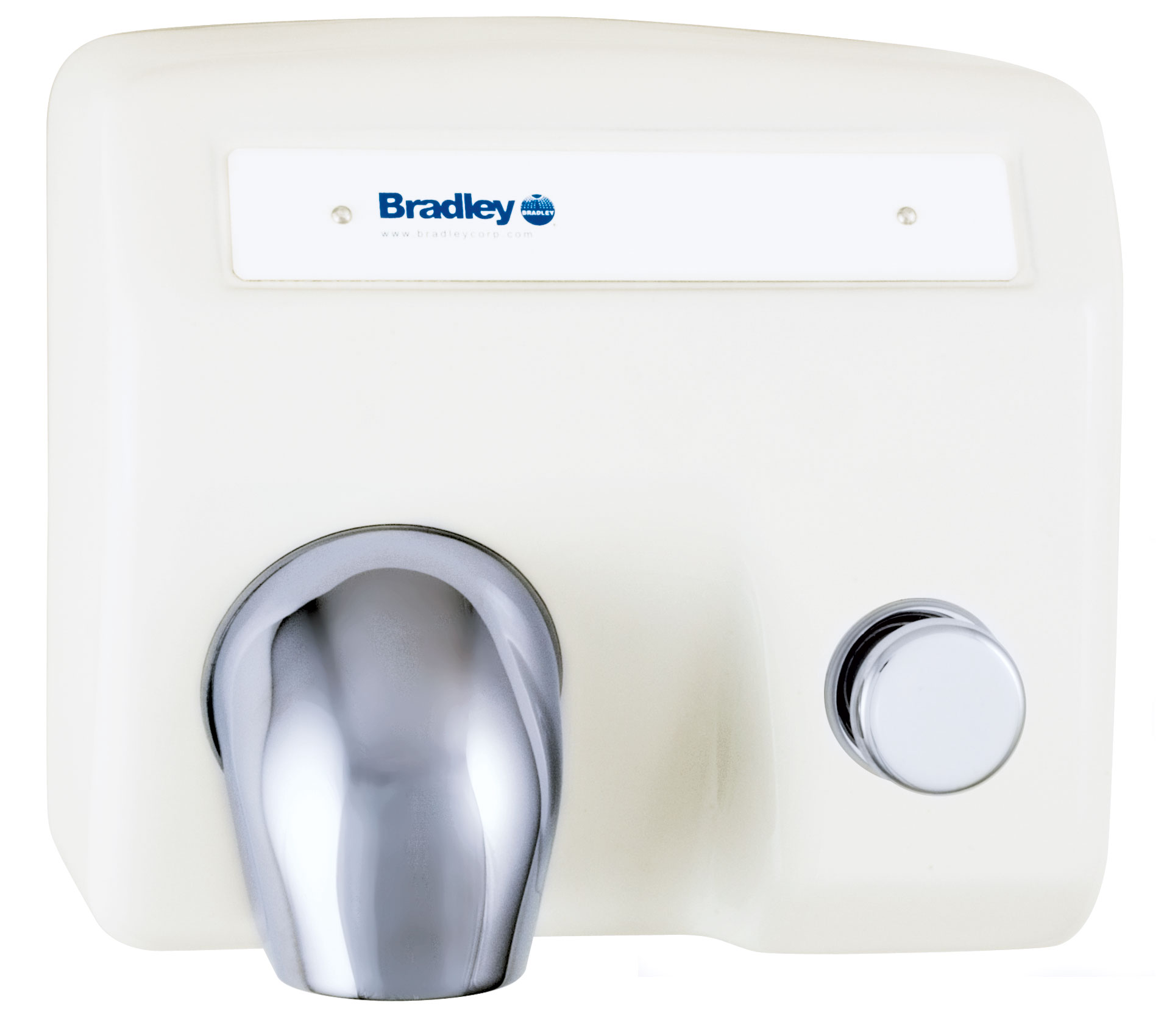 Bradley Aerix 2904-28 Push Button-Operated Hand Dryer