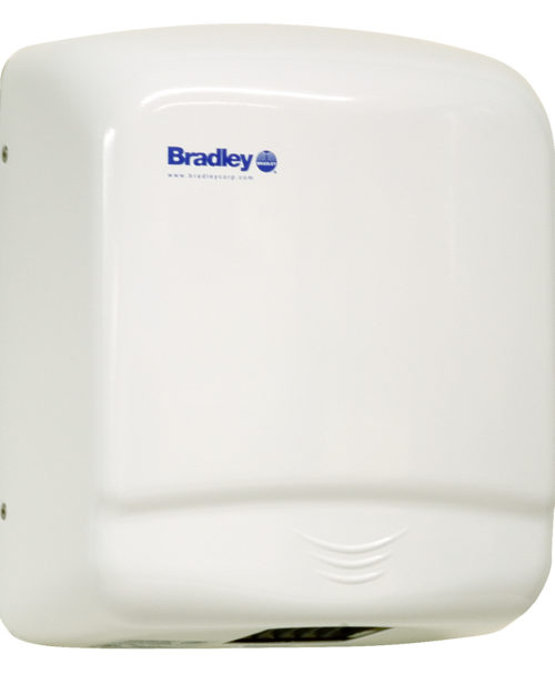 Bradley Aerix 2905-2873 Sensor-Operated Steel Covered Hand Dryer