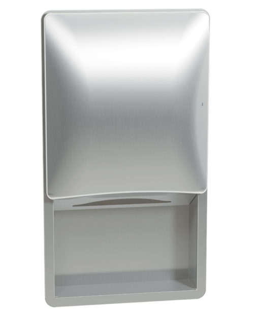 Bradley 2A00 Recessed Folded Towel Dispenser
