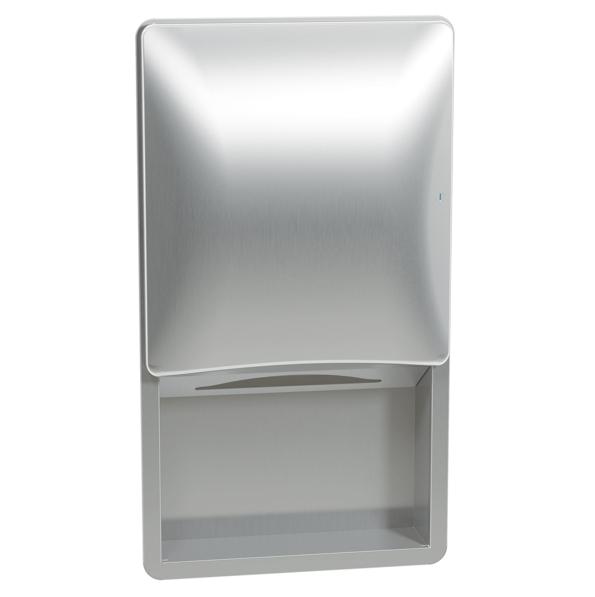 Bradley 2A02 Recessed Sensor-Activated Towel Dispenser