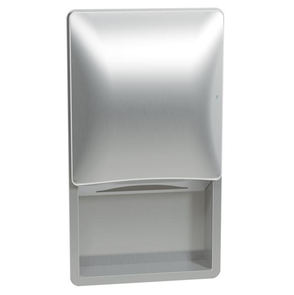 Bradley 2A09 Recessed Towel Dispenser (No Dispenser)