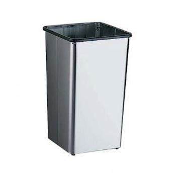 Bradley 377-3637 Freestanding 21 gal. Waste Receptacle