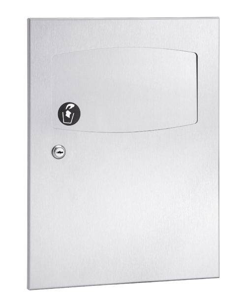 Bradley 4737-10 Semi-Recessed Sanitary Napkin Disposal