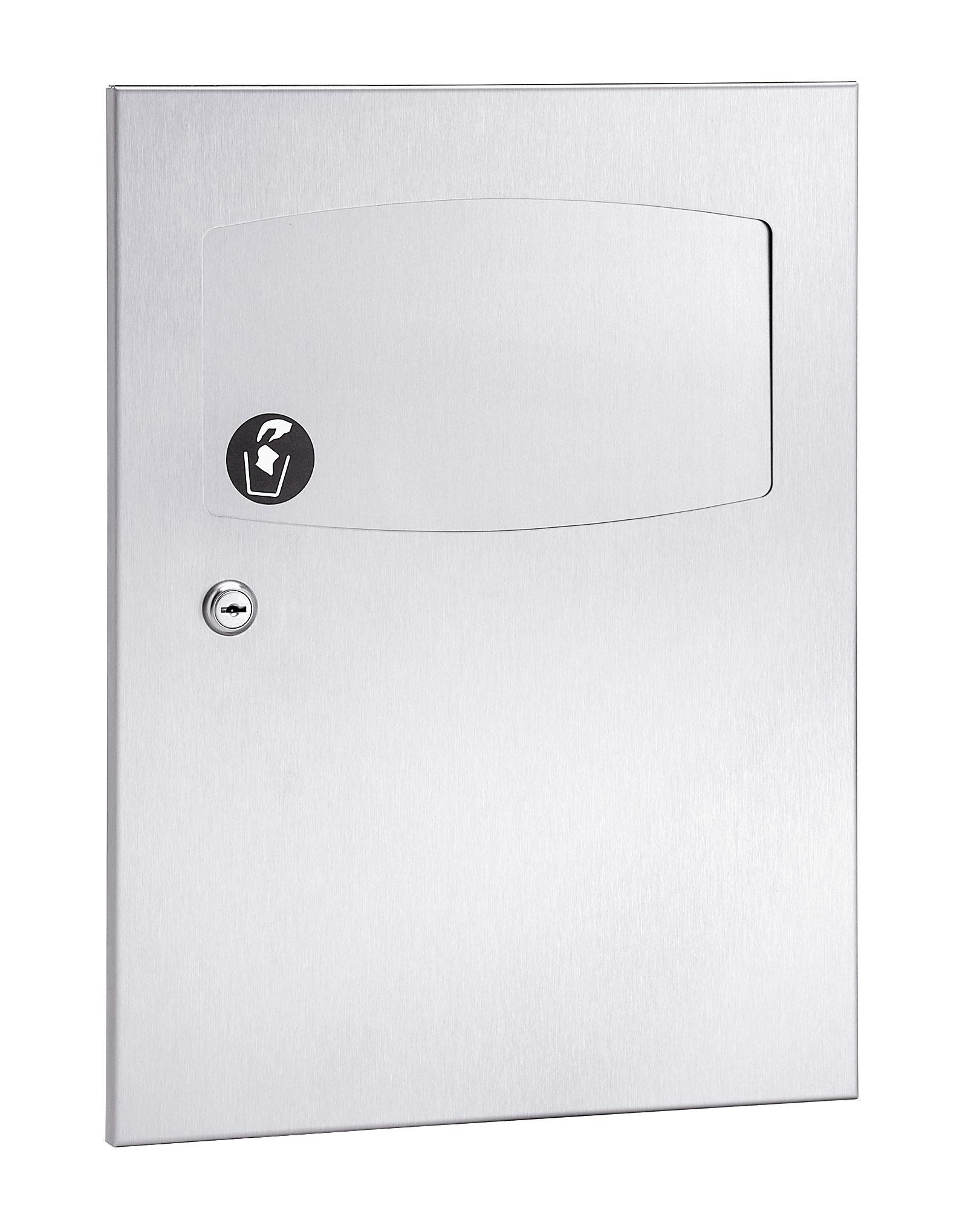 Bradley 4737-10 Semi-Recessed Sanitary Napkin Disposal