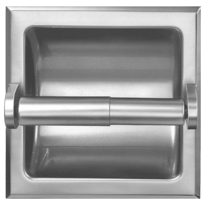 Bradley 510 Recessed Single Roll Toilet Paper Dispenser