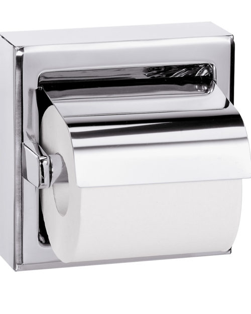 Bradley 5106 Single Roll Toilet Paper Dispenser