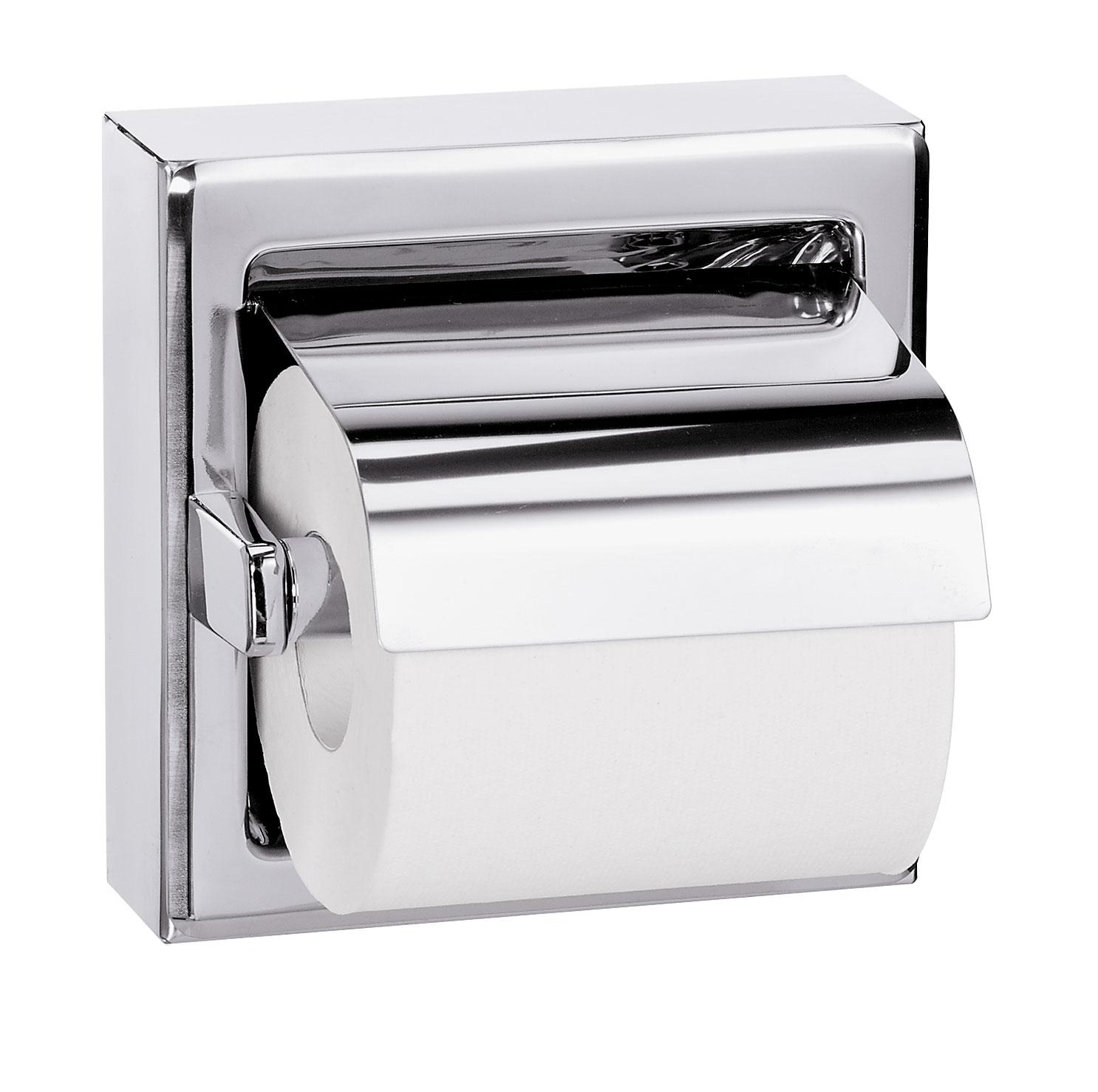 Bradley 5106 Single Roll Toilet Paper Dispenser