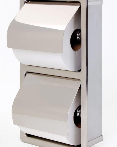 Bradley 5127 Dual Roll Toilet Paper Dispenser