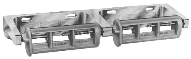 Bradley 5241 Double Roll Toilet Paper Dispenser