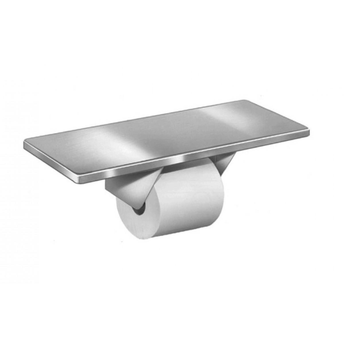 Bradley 5262 Single Roll Toilet Paper Dispenser With Shelf