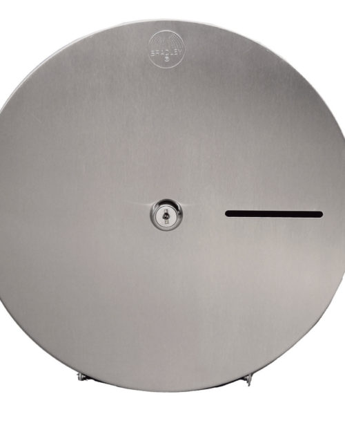 Bradley 5424 Single Roll Jumbo Toilet Paper Dispenser