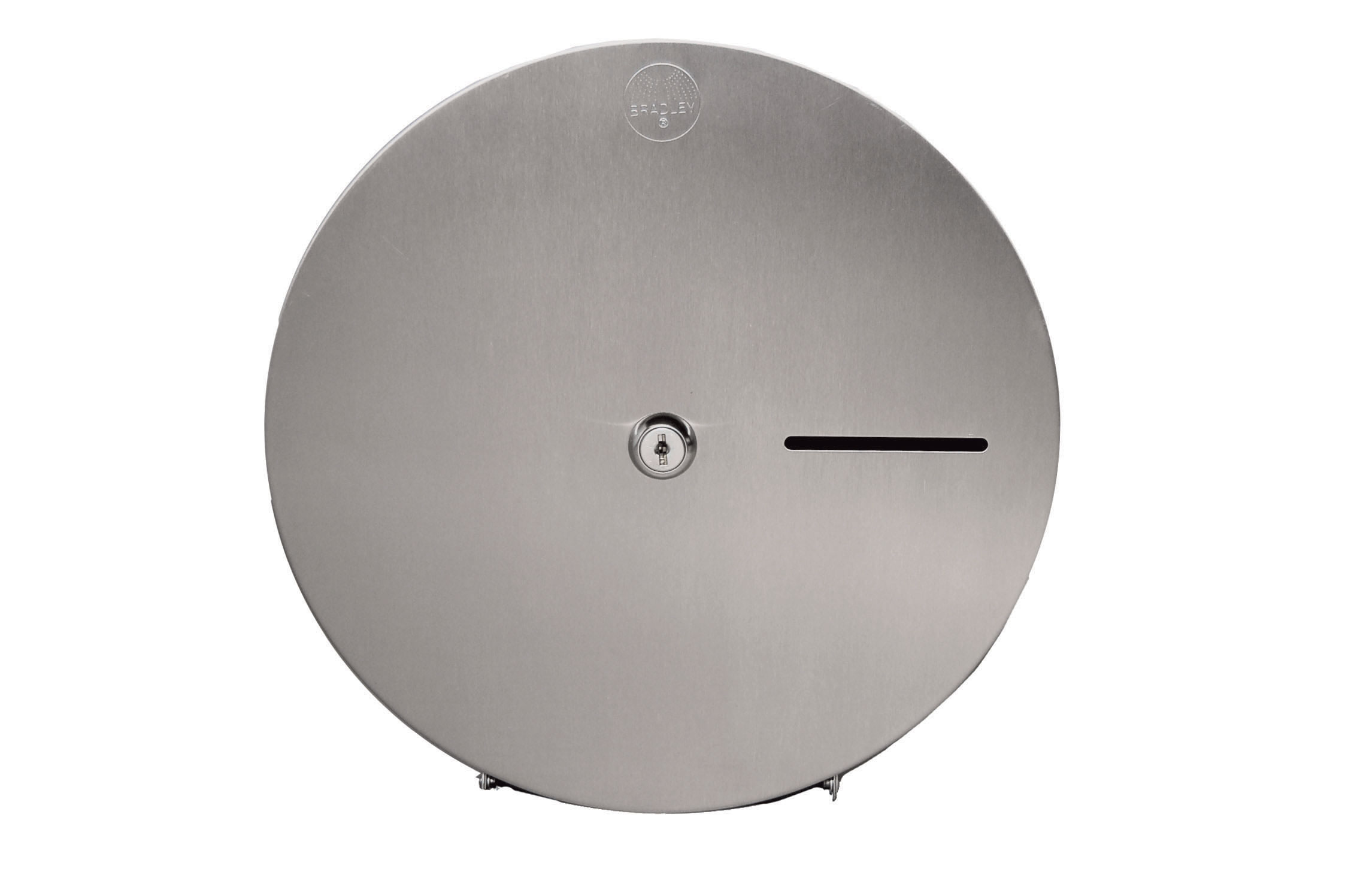 Bradley 5424 Single Roll Jumbo Toilet Paper Dispenser
