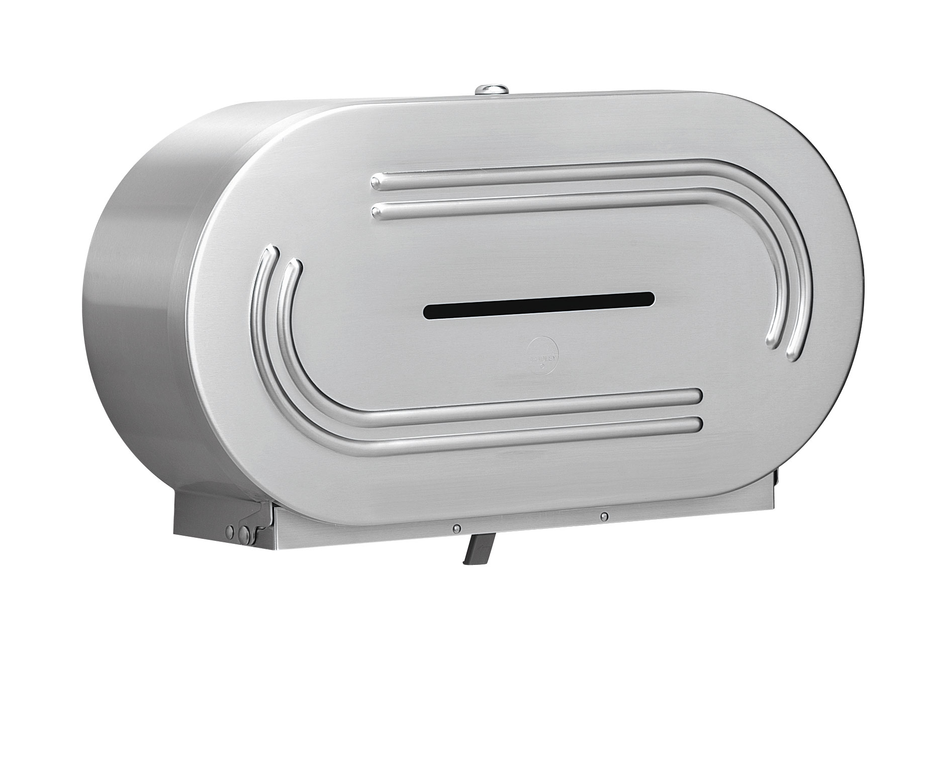 Bradley 5425 Dual Jumbo Roll Toilet Paper Dispenser