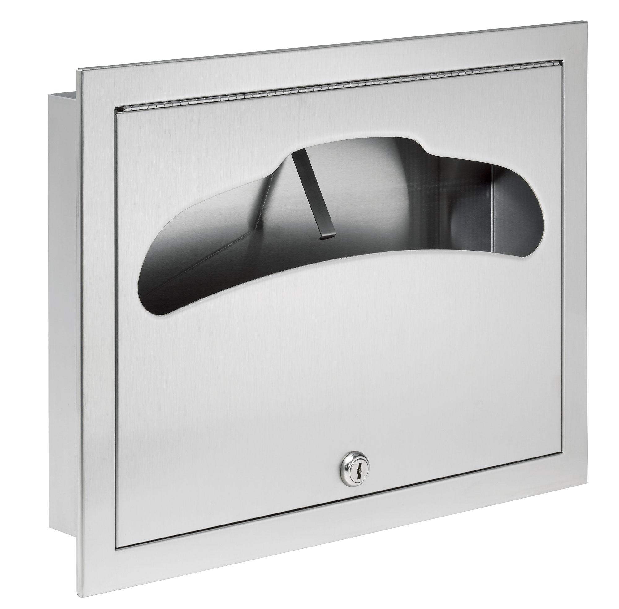 Bradley 584 Recessed Seat Cover Dispenser