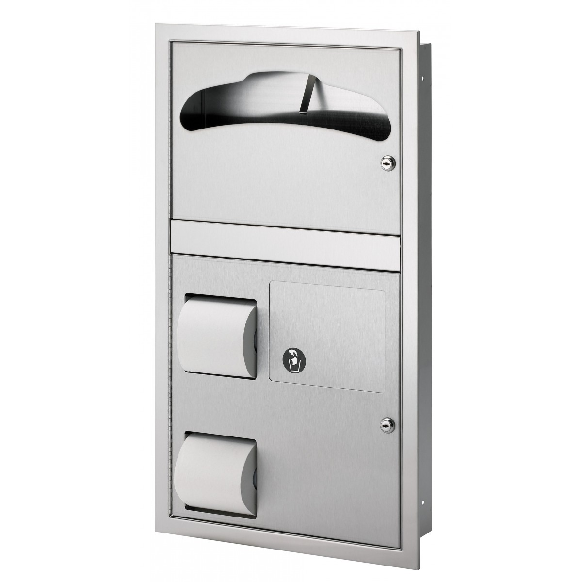 Bradley 5912-1169 Surface Mounted Combination Unit (Reverse Door)