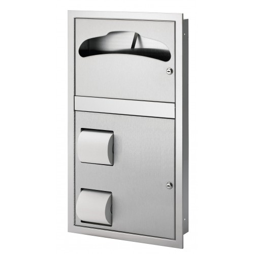 Bradley 5922-1169 Surface-Mounted Combination Unit (Reverse Door)