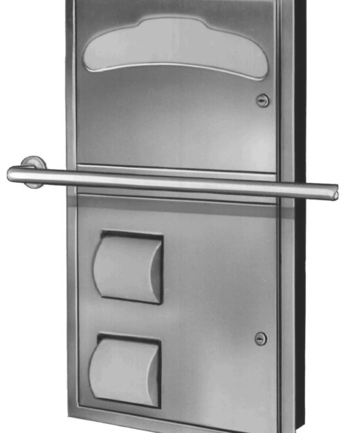 Bradley 5922-69 Recessed Combination Unit (Reverse Door)