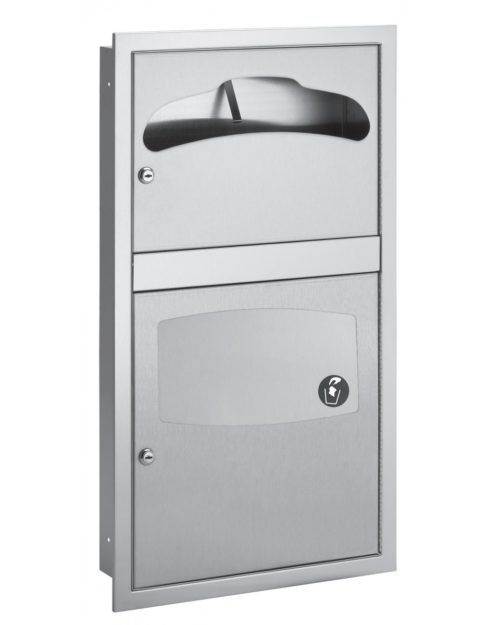 Bradley 5932-11 In-Stall Surface Mounted Combination Unit