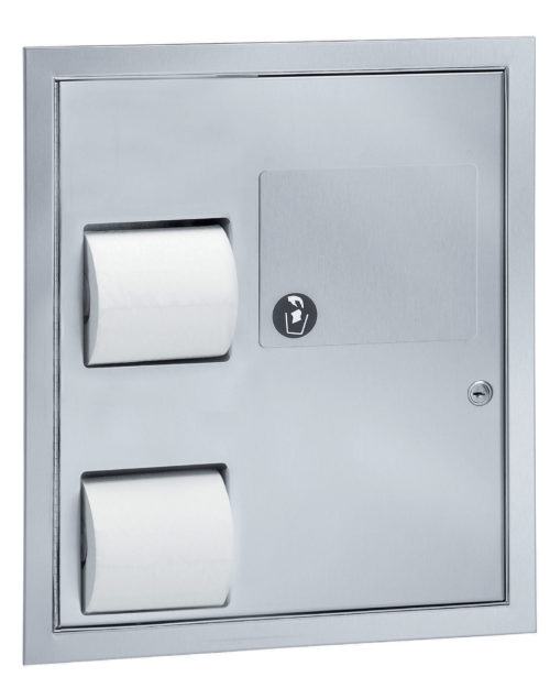 Bradley 5941 Partition Mounted Combination Unit
