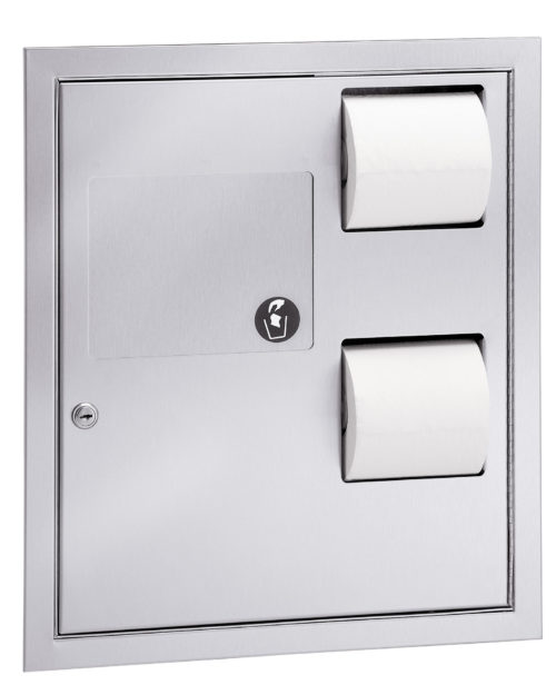 Bradley 5942-11 Surface Mounted In-Stall Combination Unit