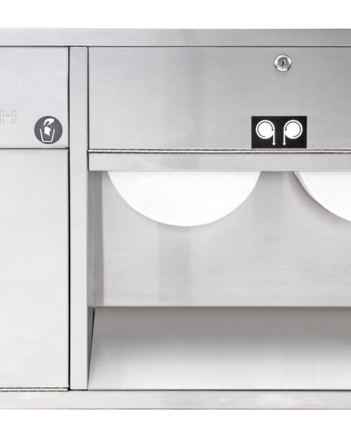 Bradley 5951 Recessed In-Stall Combination Unit