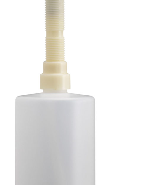 "Bradley 6324 Spout Pump Liquid Soap Dispenser (4"" Spout, 16oz cap.)"