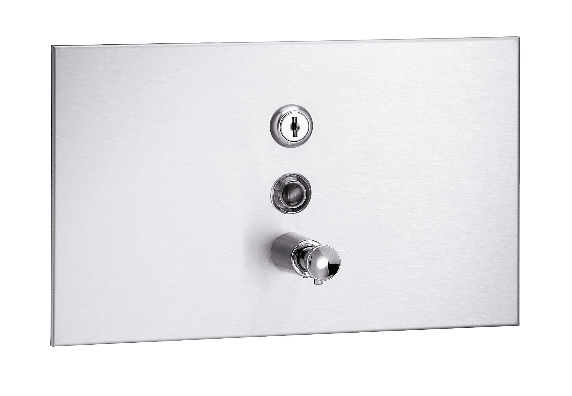 Bradley 6437 Recessed Horizontal Soap Dispenser