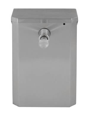 Bradley 6531 Wall Mounted Vertical Soap Dispenser (44 oz. cap.)