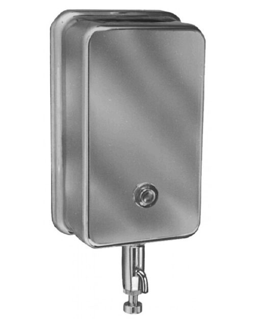 Bradley 655 Vertical Tank-Type Wall Mount Soap Dispenser (40 oz. cap.)