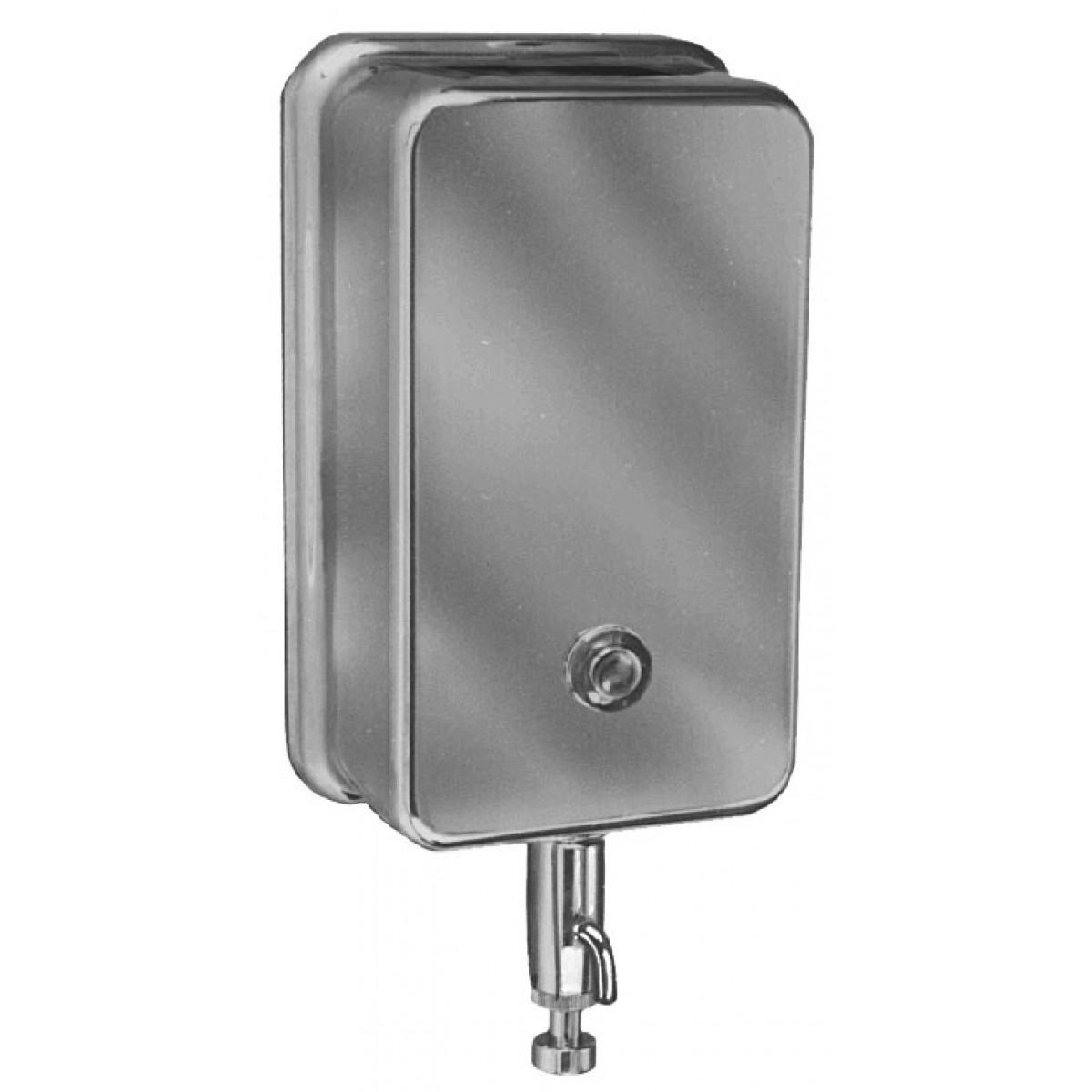 Bradley 655 Vertical Tank-Type Wall Mount Soap Dispenser (40 oz. cap.)