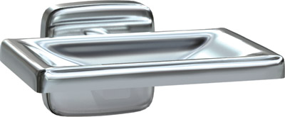 American Specialties 7320-S Satin Finish Soap Dish