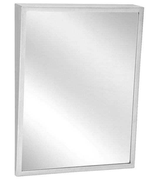 "Bradley 740-1830 Fixed Tilt Mirror 18"" x 30"""